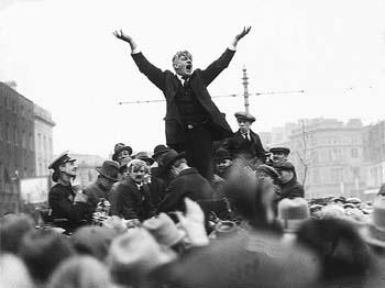 James Larkin addressing a crowd