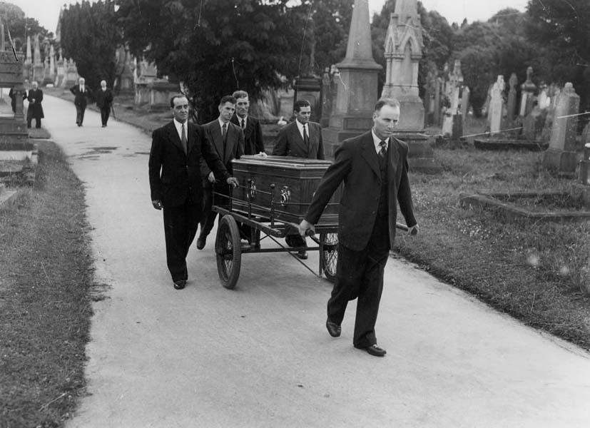 Exhumation of Matt's body